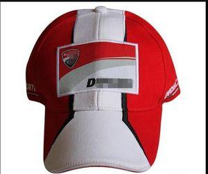 الصيف للدراجات النارية الرياضية الجديدة غطاء واقية من الشمس لعبة البيسبول التطريز سباق F1 قبعة بيسبول دراجة نارية سيارة مروحة قبعة الشمس