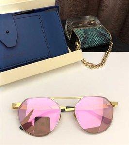 SS027 Occhiali da sole Italia SUPER SUNG Top Sunglasses lega di qualità rotonda Full frame progettista delle donne UV400 protezione gratuita prossimo con il caso 027