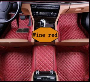 Venta al por mayor de encargo del coche tapetes de accesorios Ford Mustang 2005 2008 2010 3D de lujo Alfombras Alfombra Coche Tapete Carro