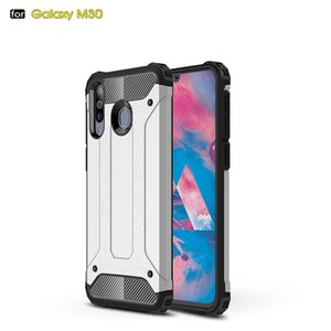 Shockproof Heavy Duty Phone Case Anti Scratch Armor Protective Impact Resistant Silicone Cover for Samsung M30