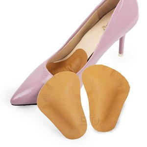 EiD Insoles Leather Arch Support Pad for Women Flat Foot Orthopedic Inserts Pain Relief High Heel Shoe Sandal Orthotic Inserts