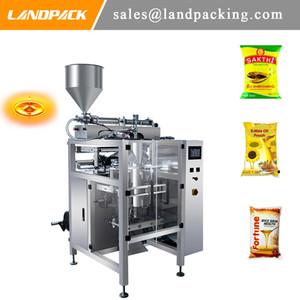 Fıstık Yağı Dikey Form Doldurma Paketleme Makinesi Yenilebilir Yağ Paketleme Makinesi ÜRETİCİLER