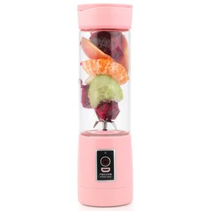 400Ml 6 Blades Mini Usb Rechargeable Portable Electric Fruit Juicer Smoothie Maker Blender Machine Sports Bottle Juicing Cup