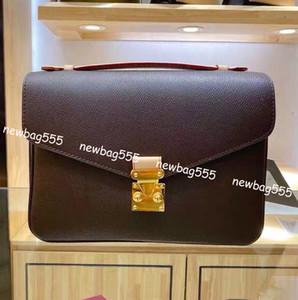cuir véritable sac pochette de taille moyenne de la mode chaud des femmes l'impression inversée poignée de Crossbody épaule sac fourre-tout m40780 sacs à main