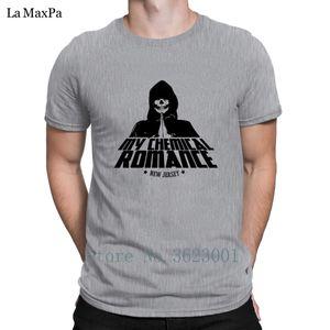 New Style Letters T Shirts Frühling My Chemical beiläufige Marken Mann-runder Kragen-T-Shirt Interessanter