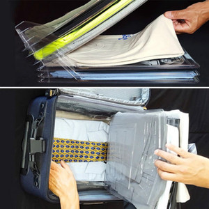 Creative veloce vestiti della camicia Fold Zaino Abbigliamento Consiglio delle cartelle Viaggi T-shirt Document HOME Closet Organizer 10Pc