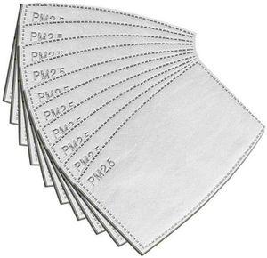 Anti Poeira Gotas substituível Máscara de Filtro Insert para Máscara de papel Haze Boca PM2.5 Filtros de Produtos Domésticos de protecção 100pcs