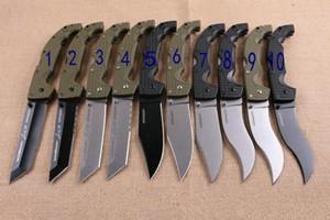 NEWER COLD STEEL Voyager dogleg Dogleg ABS Titan Folding Camping Überlebens-Messer Weihnachten Messer Geschenk Messer 1pcs Adco