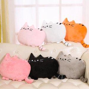 Sevimli Fat Cat Bebek Peluş Oyuncak 20/40 cm Yastık 5Colors Bebekler İçin Çocuk Yüksek Kaliteli Yumuşak Yastık Pamuk Brinquedos İçin Çocuk Hediye