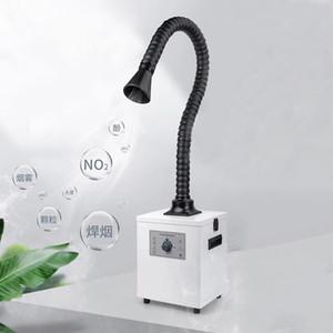 UYUE soldadura humo Fume Extractor 3 capa de filtro de escape Instrumento purifing Industrial para Laser Separación Machine