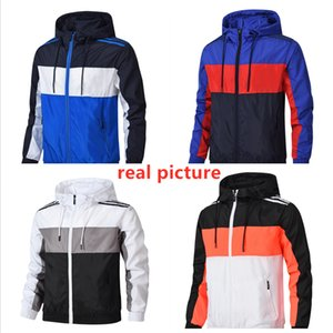 giacca sportiva autunno Sport Zipper Mens di marca Abbigliamento taglie forti con cappuccio del rivestimento delle donne del progettista del cappotto di lusso lungo Hoodie