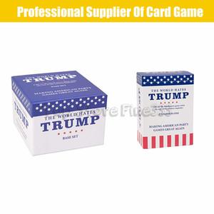 Humanity Hates Trump Juego de cartas divertidas Humanity Hates Trump Juego de cartas Juego de bases 200 Tarjetas blancas 50 Tarjetas negras ENTREGA INMEDIATA