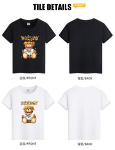 Kids Designer T Shirts boys girls Brand Letter Bear Print Luxury Child Tops Tee Summer Fashion Clothing Boy Girl Designer Tshirts free ship