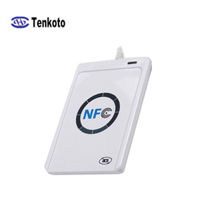 New ACR122U NFC Reader USB Interface RFID Windows Android Door And Attendance Access Control Intelligent Contactless Smart NFC Card Reader
