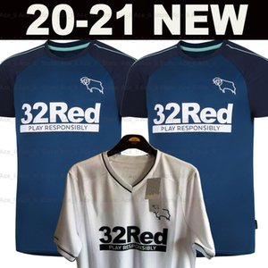 20 21 Derby County camisa de futebol Longe 2020 2021 casa jerseys qualidade LAWRENCE BOGLE Waghorn maillot de camisa de futebol Bielik Top Tailândia