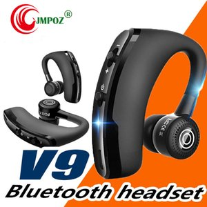 Bluetooth Headphones Quality V9 Wireless CSR 4.1 Business Stereo Wireless Earphones Earbuds Headset With Mic Voice Control package