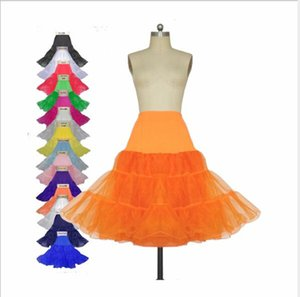 colorful Puffy Short Organza Halloween Women Crinoline Vintage Bridal Petticoat for Wedding Evening Cosplay Underskirt Rockabilly Tutu