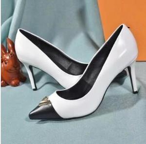 Neue Frauenheart Pumpen Luxus-Designer-Schuhe 1A66A4 hohe Absätze hochwertiges Rindsleder Größe 35-40 mit Kasten