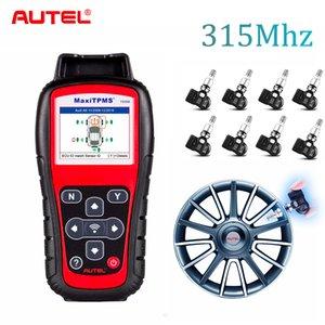 2018 New Autel TS508K + 8PCS 315Mhz TPMS Service Car Diagnostic Tool Activit Tire Pressure Sensor Program ECU T