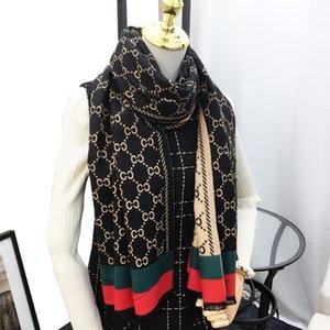 2019 longue de haute qualité en cachemire classique designers Plaid écharpe en cachemire épais de femmes de mode cachemire Châle 190 * 65cm