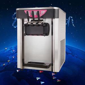 Ucuz Fiyat ve Güvenilir kaliteli ticari masa üstü yumuşak dondurma makinesi 220.110V şartname