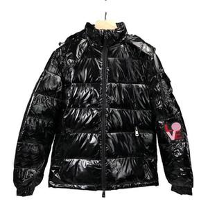 High Quality Mens 90% Real duck Down Winter Jacket Parka Hip Hop Mens Desigenr Winter Coats SIZE M-XXL