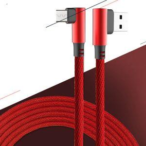 Мобильная игра кабель для передачи данных типа-с Android двойного локоть USB кабеля для передачи данных ткани быстро зарядить DHL свободным