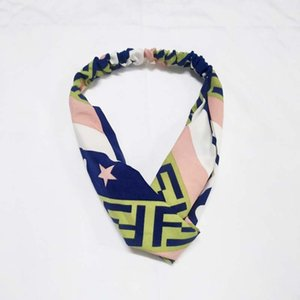 Hot selling Designer Headband for Women and Men Green and Red Striped Hair bands Head Scarf For girl Gifts