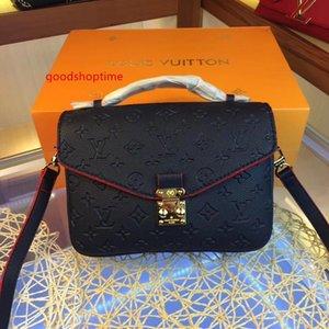 Best Fashion New orignal real genuine leather lady messenger bag fashion satchel shoulder bag handbag presbyopic package mobile phone purse