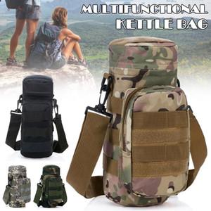Garrafa cintura Water Bag Chaleira Bolsa Titular Carry portátil para Climbing Outdoor Sports H7JP
