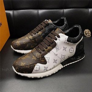 Louis Vuitton Shoes Xshfbcl novas Shoes Moda Couro Além disso fugir Shoes Sneaker Moda para homens com originais corredor ao ar livre Chaussures pour hommes