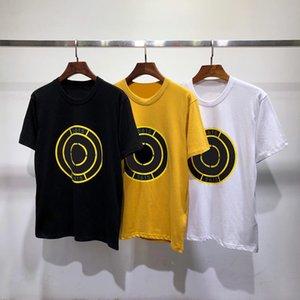 19SS Mens Stylist T Shirt Men Moda Mulheres Padrões de algodão Casual Impressão Verão Camiseta Polos tamanho M-2XL