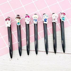 Kpop House Of Bangtan Boys JK (Women's Hoodies & Sweatshirts Women's Clothing Ballpoint Pens Kawaii Black ink Ballpen Pilot Pen For Office S