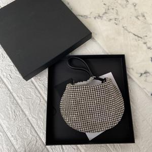 Primavera / verano 2020 bolso nuevo diamante de agua llena de diamantes bolso de la cintura solo hombro de las mujeres