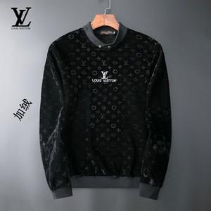 2019 novo livre de logística de moda Men Sweater luxo manga longa camisola medusa alta qualidade tendências da moda europeus e americanos camisola-A33