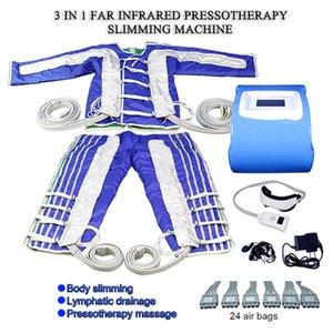 Pressotherapy Beauty Instrument Infravermelho Gordura Burning Massager Body Emagrecimento Linfático Drenagem Massagem Equipamento para Músculos Massagem