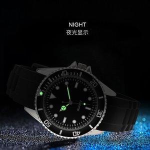 New product rubber luminous watch 2019 fashion miyota quartz movement watch rotating men