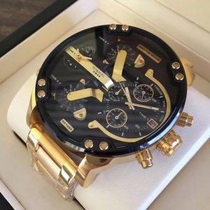 Askeri montres higt kalite Sport yeni reloj 55mm büyük kadran gösterge dizelleri mens DZ7399 DZ7414 dz7333 dz izlemek saatler