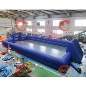 Giant custom Inflatable football pitch,inflatable soccer field, inflatable football field for team sport