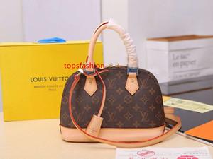 High Quality L Brand ALMA BB Women Shell Bag ALMA BB Classic Fashion Woman Handbags V Totes Bag Ladies Strap Shoulder Bag M53152