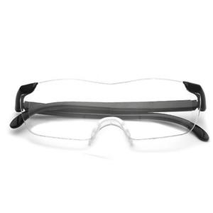 Hot Sale 1.6 Times Magnifying Reading Glasses Presbyopic Glasses Eyewear Big Vision +250 Fashion Free Shipping 70PCS