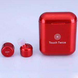 choix de cadeau ami Mini Bluetooth 5.0 de TWS vrai sans fil BT 5.2 Oreillettes TWS écouteurs sans fil sans fil avec chargeur Case Oreillettes