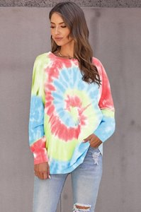 New Free For Pajamas Tiedye For Womens Crew Neck Tie Dye Pajama Short Sets Set Tie Dye Pajamas Floral Print Sweet07 Hot