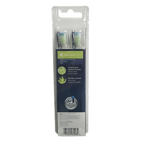 Zahnbürste Heads Pro Standard 4 Aufsteckbürsten HX6064-95 Kopfzahnbürste schwarze Farbe
