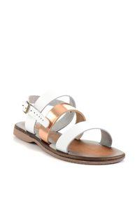 Bambi Couro Branco Copper Feminino Sandals H06859999