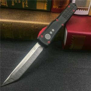 High quality MICRO -TECH Jedi Knight Automatic knife folding Knife Elmax(Satin) Blade Tactical knife Survival gear knives