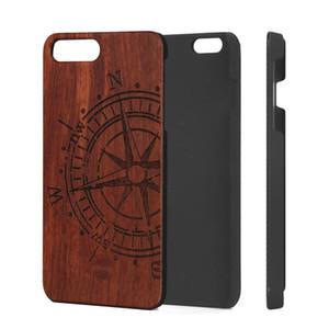 2019 caliente de la venta de muchos diseños de madera Rose caja del teléfono para el iPhone 5 6 7 8Plus X XS Max XR