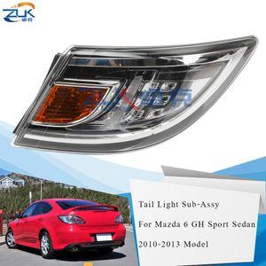 ZUK LED Heckstoßstange Rücklicht Rücklicht für Mazda 6 Sport Sedan Liftback GH 2010 2011 2012 2013 Rücklicht Unter Assy