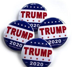 2020Trump Metal Badge smalto Pins America del presidente repubblicano campagna Spilla politico Spille cappotto dei monili regalo VT0266