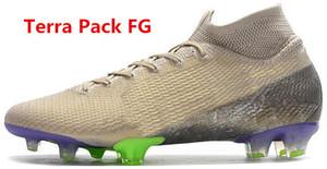 Nova Mercurial superfly VII 7 Elite FG cr7 Soccer Shoes Cristiano Ronaldo Mens Neymar JR Sonho de alta velocidade meias botas de futebol chuteiras